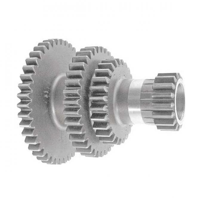 Transmission Cluster Gear - 4 Speed - 43-36-27-17 Spur Teeth - Ford Commercial & 122 Inch Wheelbase Truck
