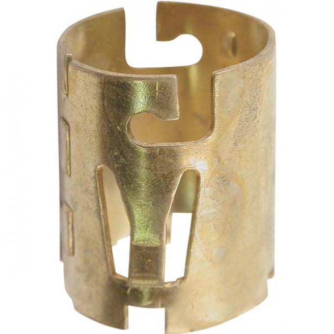 Headlight Socket Ferrule - Brass - Ford