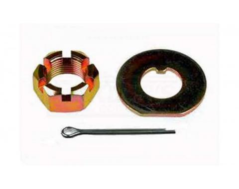 Chevy Or GMC Truck Disc Brake Spindle Nut Kit, 2WD, 1973-1986