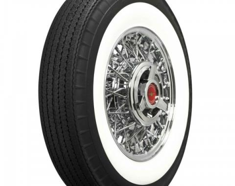 """Ford Tire, Original Appearance, Radial Construction, 8.00 x14"""" With 3"""" Whitewall"""