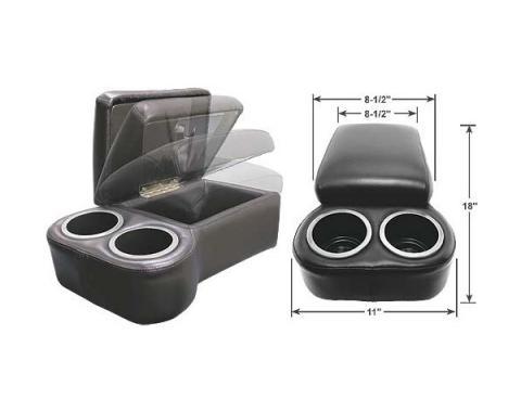 "BC Seat Cruiser Console - 18 "" x 11"" x 7"" - Black"