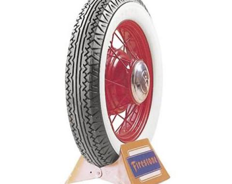 Tire - 700 X 17 - 4 Whitewall - Tube Type - Firestone