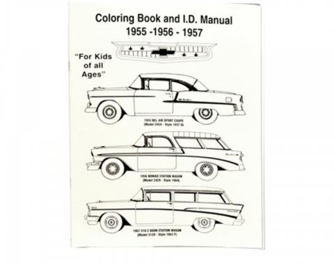 Chevy Coloring Book & I.D. Manual, 1955-1957