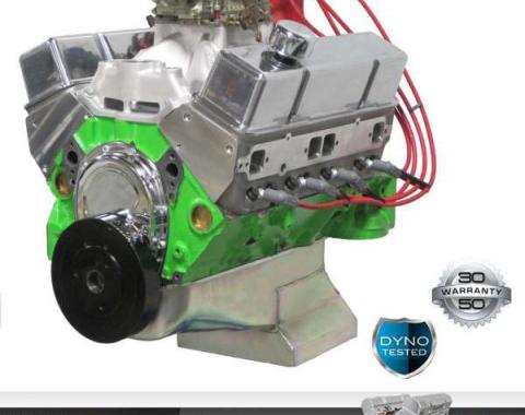 Chevy 427 C.I. Blueprint Pro Series Crate Engine 540HP, Roller Cam, Aluminum Heads, 1949-1954