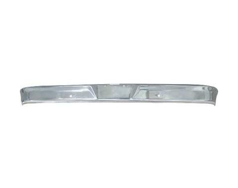 Ford Pickup Truck Front Bumper - Chrome - F100 Thru F350 Before Serial #AG0,001 - Styleside Or Stepside