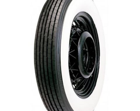 Tire - 700 X 17 - 4-7/8 Whitewall - Tube Type - Lester