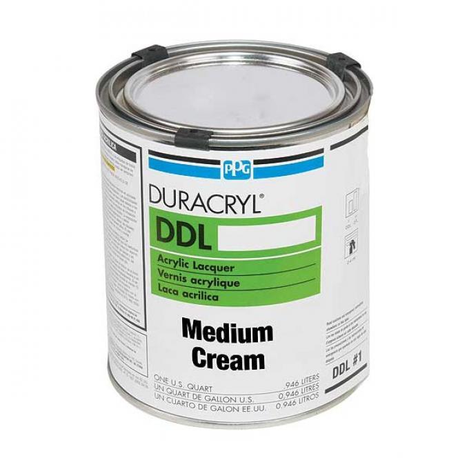 Exterior Body Paint - Acrylic Lacquer - Medium Cream - Quart - Ford