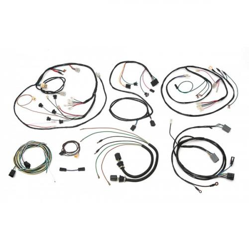 chevy truck underdash wiring harness  with warning lights