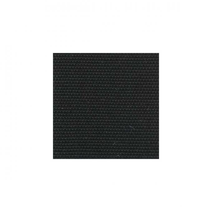 """Top Material - Black Canvas - 54"""" Wide - Material Availableby the Yard"""