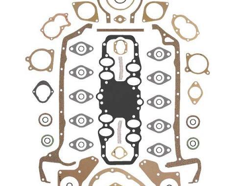 Engine Gasket Set - No Head Gaskets - Ford Flathead V8 90 &95 & 100 HP 24 Stud Engine