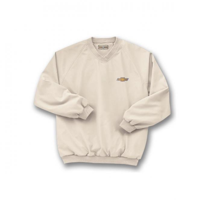 Chevy Jacket, Microfiber Windbreaker, Putty