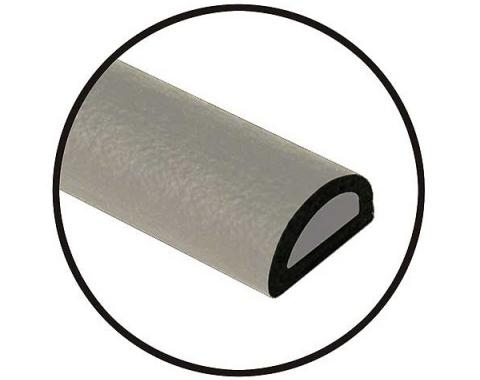 Universal Door Seal - Hollow Core - 5/8 X 3/8 X 20' Roll - Peel & Stick Adhesive Backing - Ford & Mercury