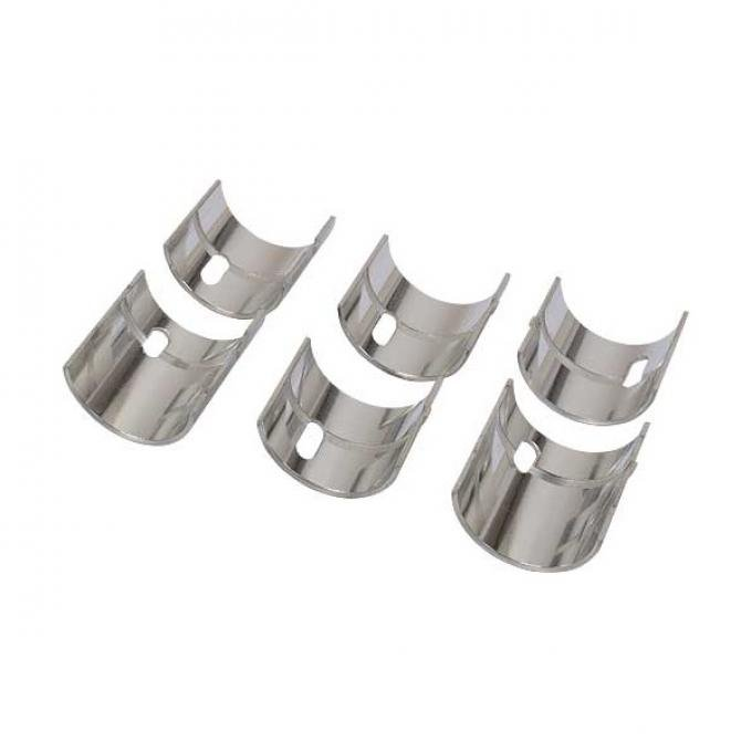 "Main Bearing Set, Insert-Style, 0.040"" Oversized, 3 Pair, Model A Ford with 4-Cylinder Model B Engine"