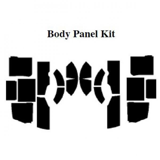 AcoustiSHIELD - Body Panel Insulation Kit - Panel Delivery Truck