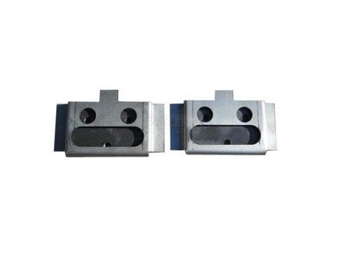Chevy Nomad or Wagon, Lower Tailgate Hinge Mount Brackets, 1955-1957