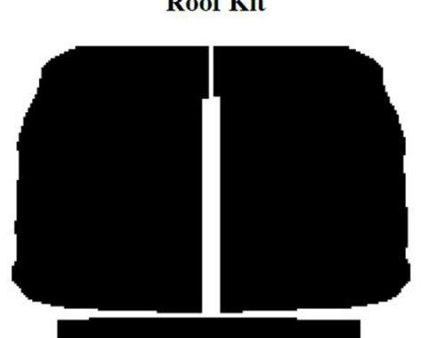 AcoustiSHIELD - Roof Insulation Kit - Pickup With Big Back Window