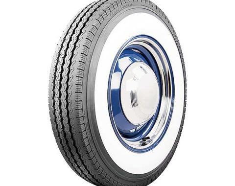 Tire - 750R16 - 4 Whitewall - Radial - Coker Classic