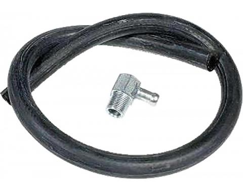 Chevy Vacuum Hose Kit, Brake Booster, With 90? Fitting 1949-1954