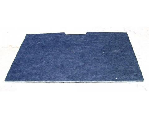 Chevy And GMC Truck Hood Insulation With Clips, 1981-1987