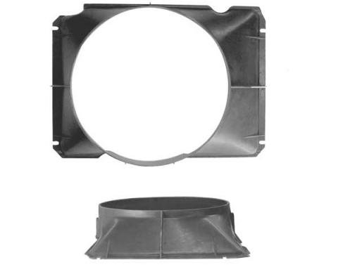 Ford Pickup Truck Fan Shroud - 302 V8 With Extra Cooling OrA/C - F100 & F150