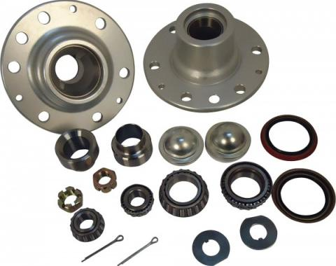 Chevy Truck Tapered Roller Bearing And Hub Conversion Kit, 6-Lug, 1955-1959