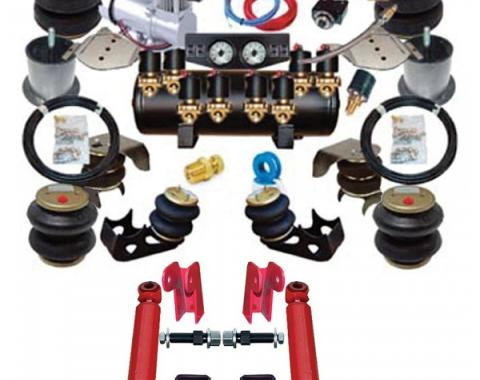 Chevy Air Ride Suspension Kit, Complete, 1949-1954