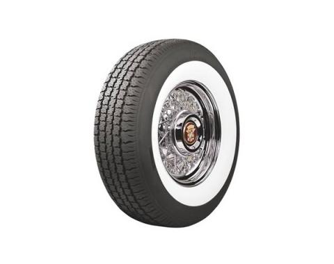 Tire - P215/75R15 - 2-3/4 Whitewall - Radial - American Classic