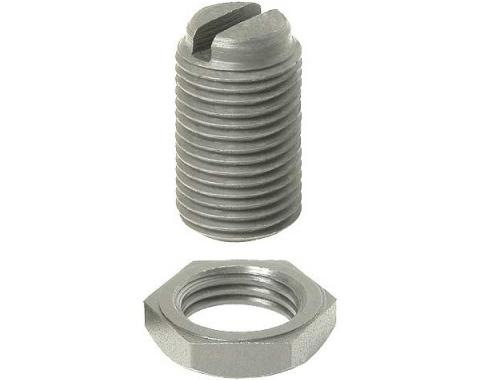 Steering Sector Thrust Screw & Nut - 9/16-18 .93 Overall Length - Ford