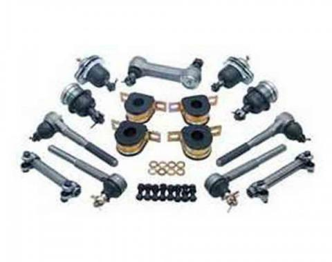 Chevy Truck Front End Rebuild Kit, With Rubber Bushings, 1983-1987