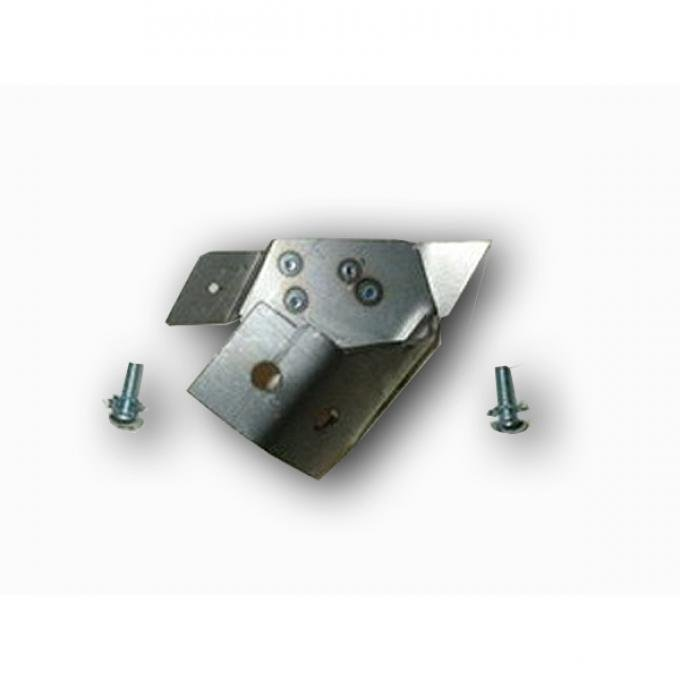 Chevy Seat Stop Bracket, For 2-Door Models With Split Back Front Seat, 1955-1957