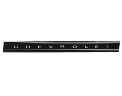 Trim Parts 69-72 Chevrolet and GMC Truck Tailgate Panel Assembly, Black, Each 9656