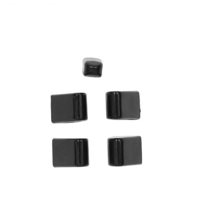 Trim Parts 57 Full-Size Chevrolet Heater Lever Control Knobs, Set 1434