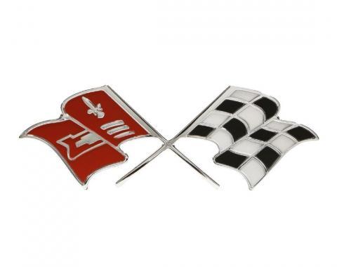 Trim Parts 60 Full-Size Chevrolet and El Camino Trunk Emblem, 348 V-8, Each 2093