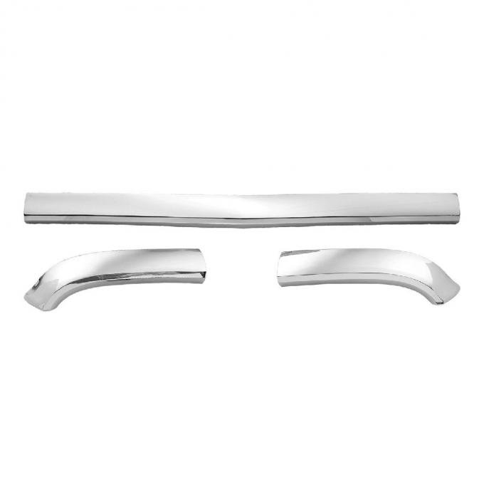 Trim Parts 57 Full-Size Chevrolet Hood Bar with Extension Kit 1425K
