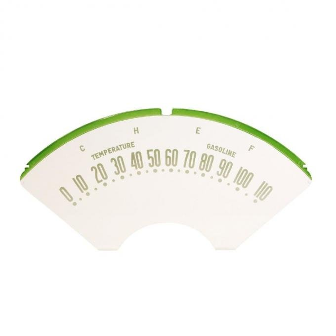 Trim Parts 55-56 Full-Size Chevrolet Speedometer Face, Each 1049