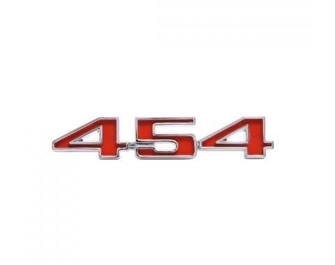 Trim Parts 70 El Camino Tailgate Emblem, 454, Each 4879