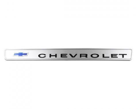 Trim Parts 67-68 Chevrolet and GMC Truck Glove Box Door Emblem, Chevrolet, Each 9575