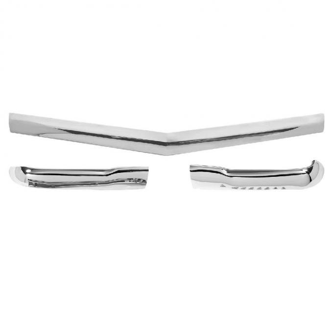 Trim Parts 56 Full-Size Chevrolet Hood Bar and Extension Kit 1308K