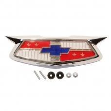 Trim Parts 54 Full-Size Chevrolet Trunk Emblem Assembly, Each 1015