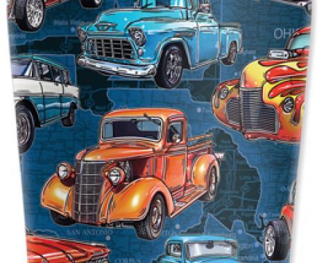 Mugzie® brand Travel Mug - Hot Rod Trucks