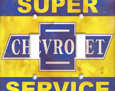 Chevrolet Service Switchplate