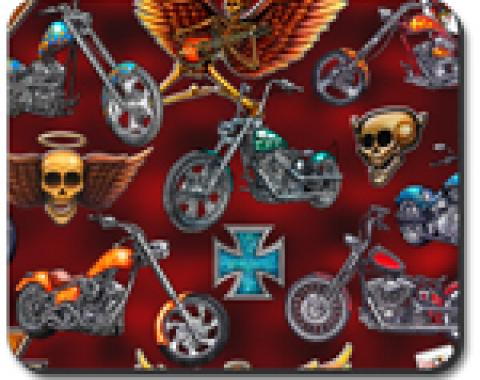 Choppers & Skulls Mouse Pad