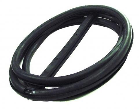 Precision Windshield Weatherstrip Seal With Trim Groove for Steel Trim WCR 4235 S GM