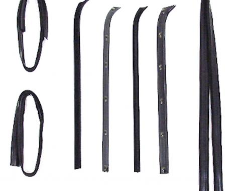 Precision Beltline Molding and Glass Run Channel Kit, Left and Right Hand, 8 Piece Kit WFK 2111 73