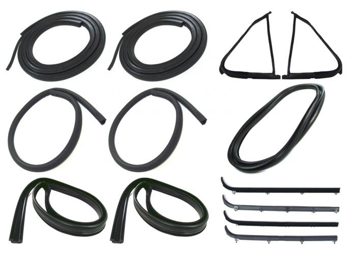 Precision Complete Weatherstrip Seal Kit-Models Without Weatherstrip Trim Groove CWK 2110 87