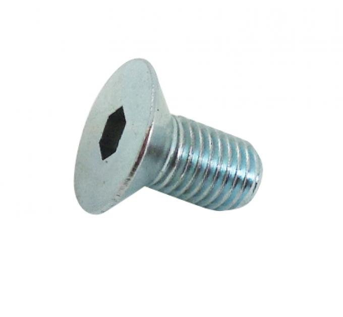 RPC Racing Power Company R0005, Water Pump Pulley Bolt, For Use With Chevy, Grade 5, 5/16 Inch -24 Tapered Threads, Zinc Treated Steel, Set Of 4