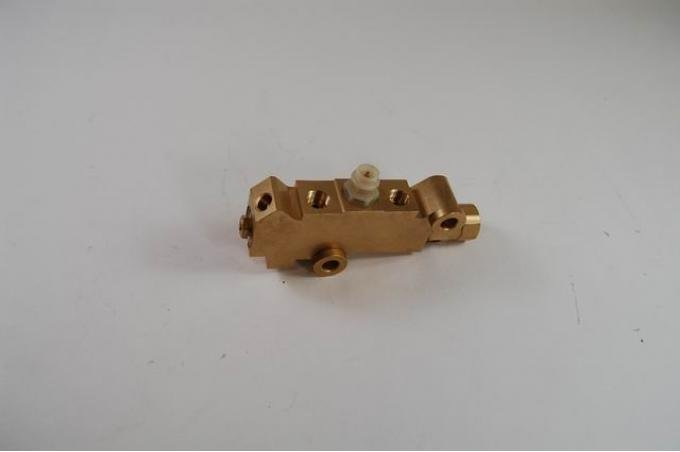 RPC Racing Power Company R4500, Brake Proportioning Valve, Non-Adjustable, Disc/ Drum, Brass