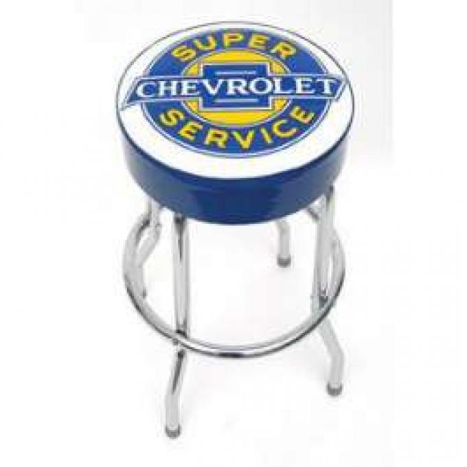 Super Chevrolet Service Bar Stool
