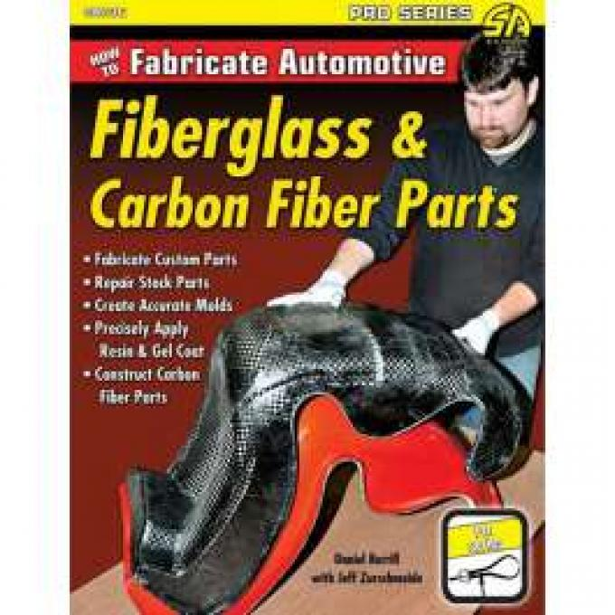 Book, How To Fabricate Automotive Fiberglass & Carbon Fiber Parts