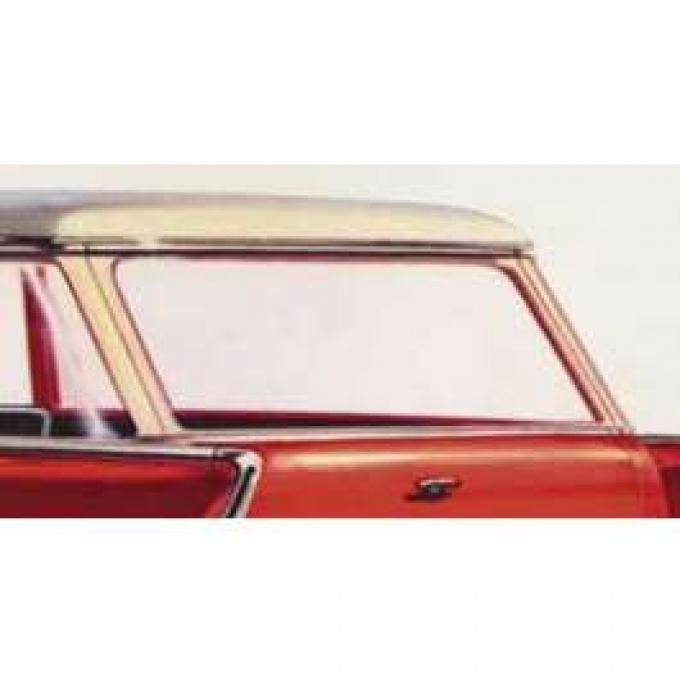 Chevy Rear Liftgate Glass, Clear, Wagon & Sedan Delivery, 1955-1957